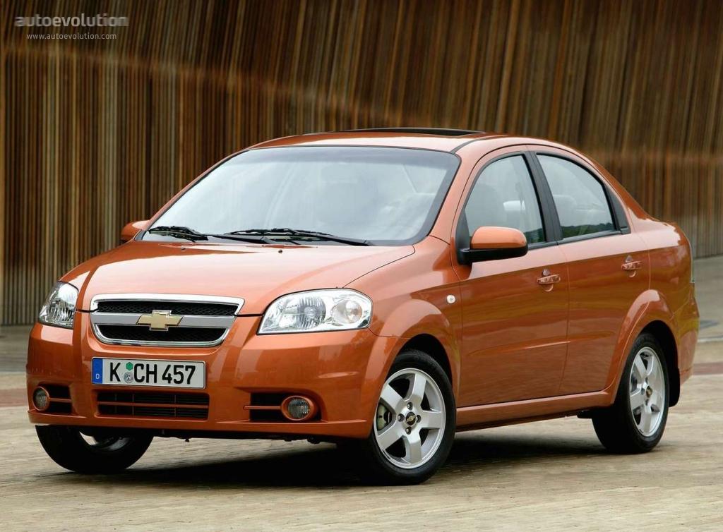 Chevrolet Aveo I Restyling 2006 - 2011 Sedan #6