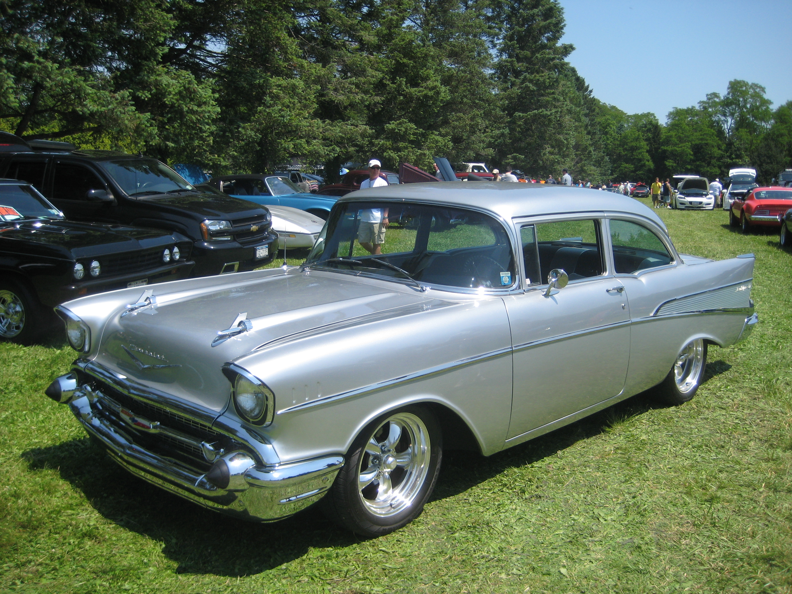 Chevrolet Bel Air II 1955 - 1957 Coupe #1