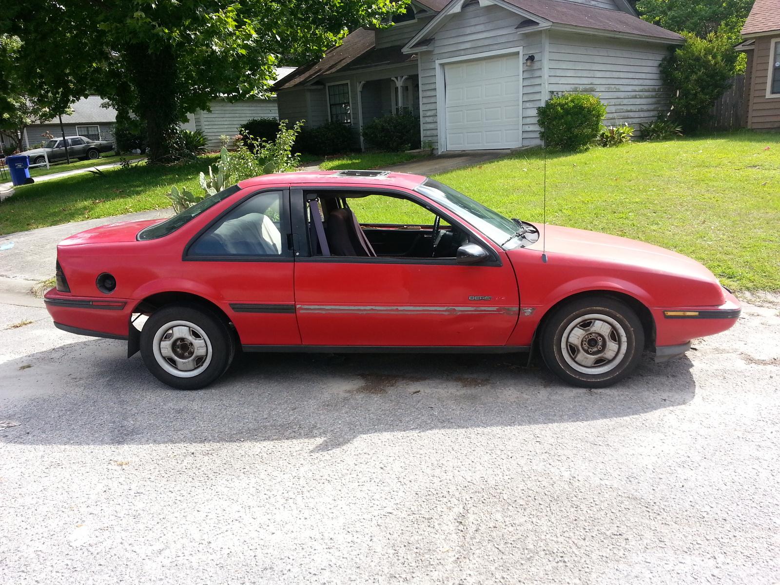 Chevrolet Beretta 1987 - 1996 Coupe #2