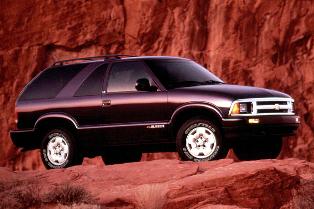 Chevrolet Blazer II Restyling 1997 - 2005 SUV 5 door #7