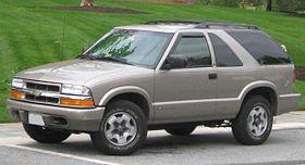 Chevrolet Blazer II Restyling 1997 - 2005 SUV 5 door #4