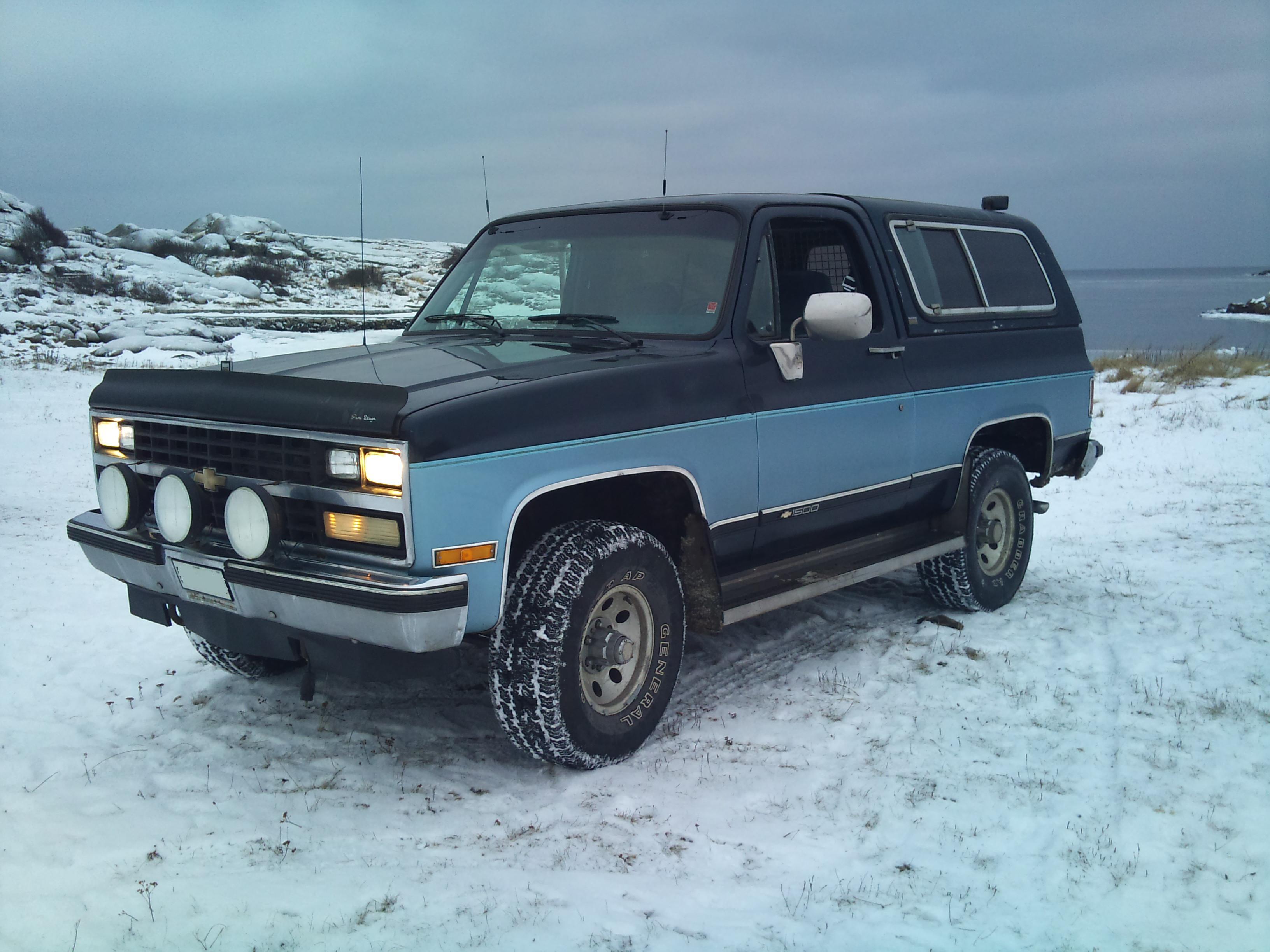 Chevrolet Blazer K5 III 1992 - 1994 SUV 3 door #1