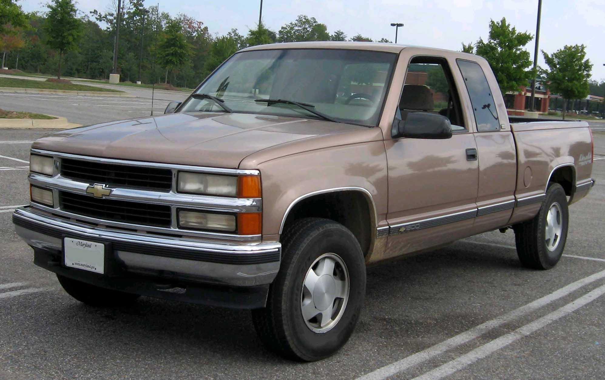 Chevrolet C/K IV (GMT400) 1988 - 2000 Pickup #3