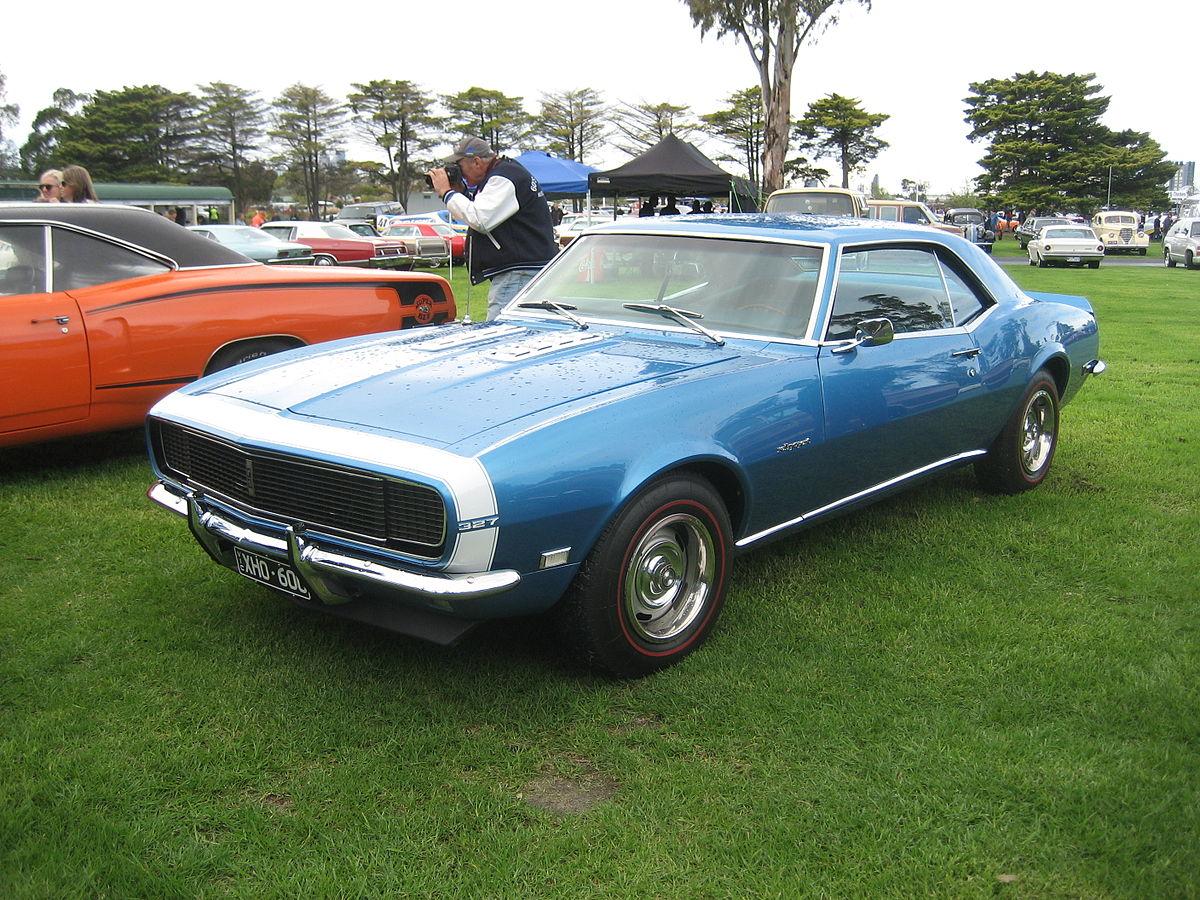 Chevrolet Camaro I 1967 - 1969 Coupe #5