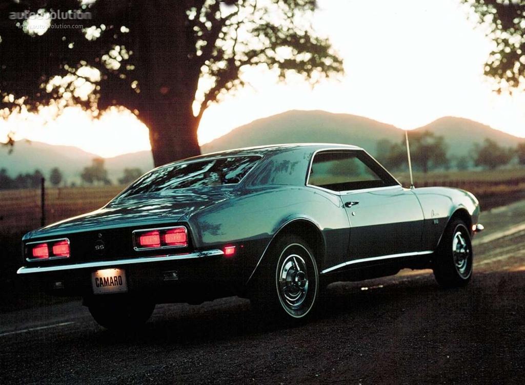 Chevrolet Camaro I 1967 - 1969 Coupe #3