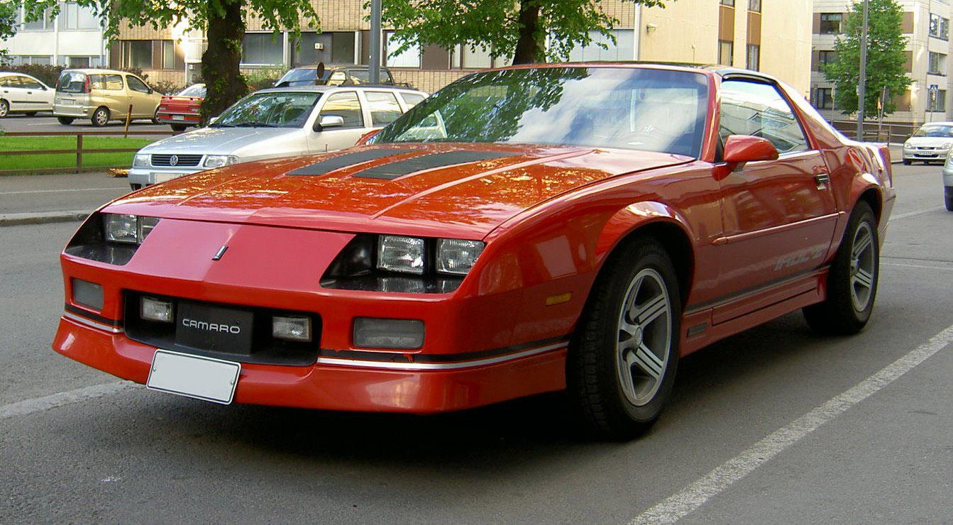 Chevrolet Camaro III 1982 - 1985 Coupe #2