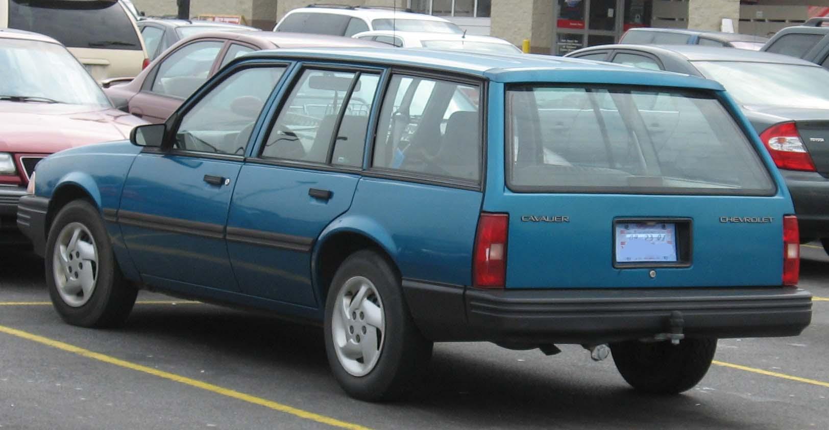 Chevrolet Cavalier I 1982 - 1987 Sedan #1
