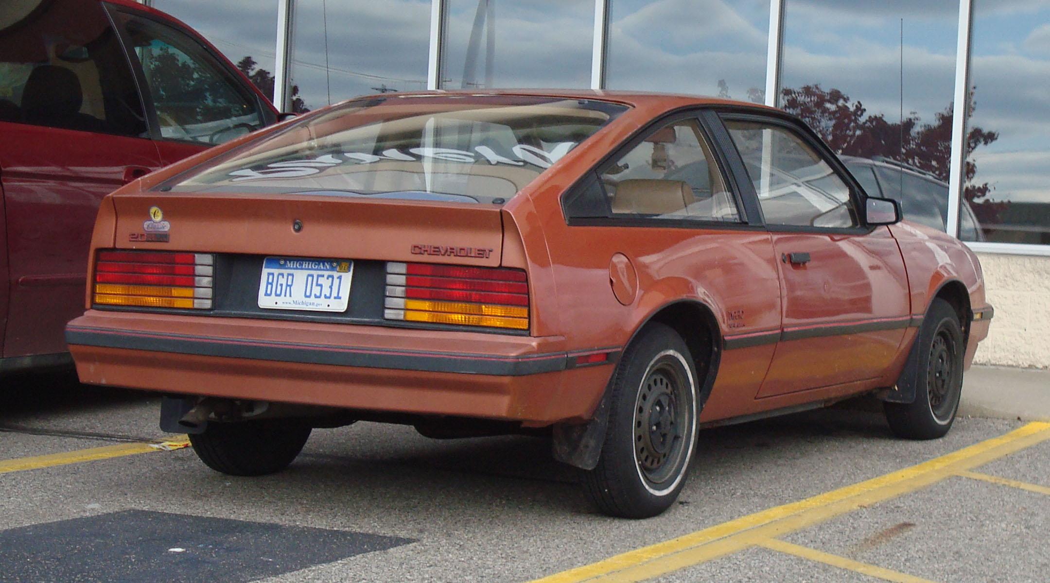 Chevrolet Cavalier I 1982 - 1987 Sedan #2