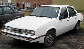 Chevrolet Cavalier I 1982 - 1987 Sedan #8