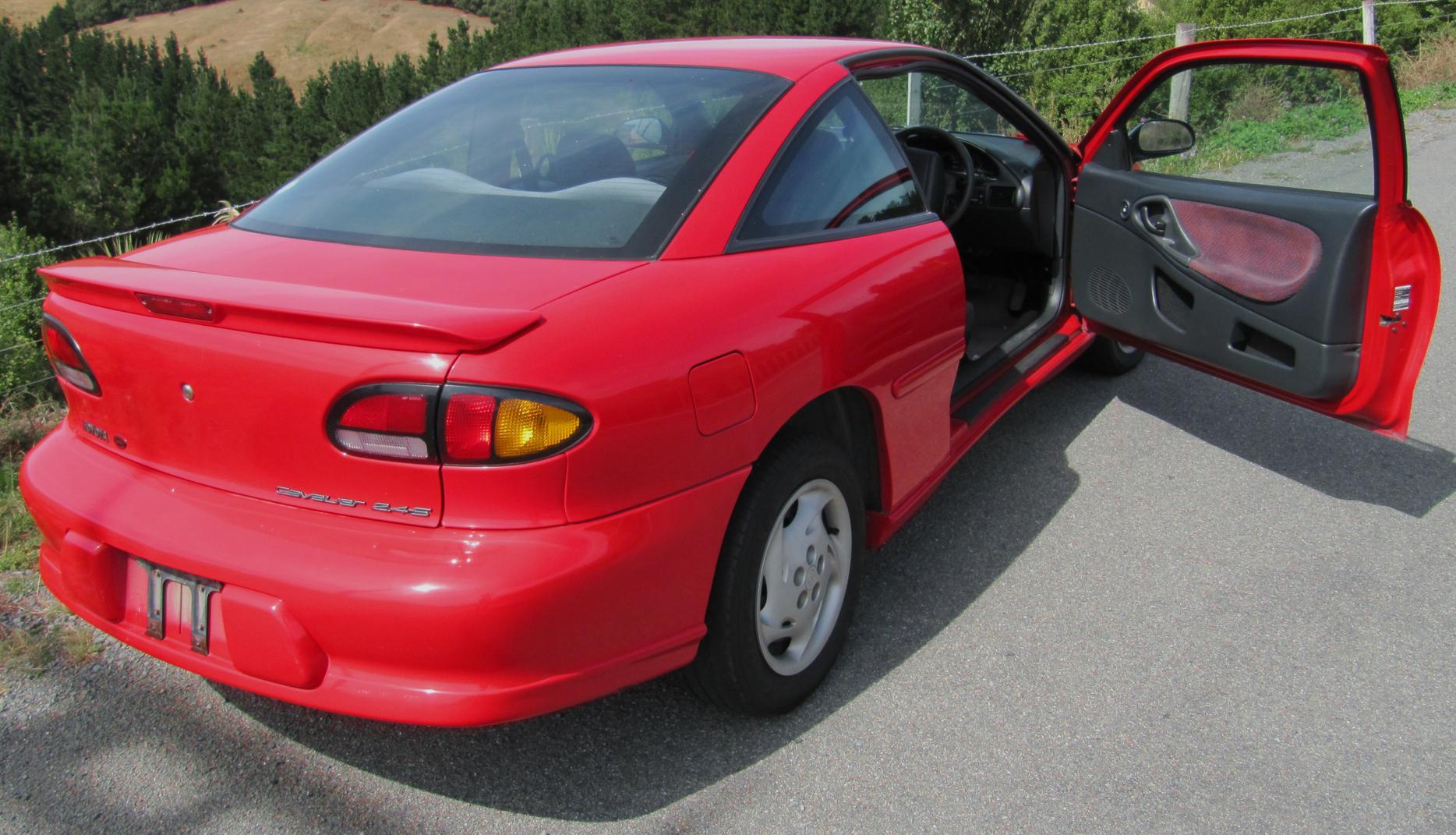 Chevrolet Cavalier III 1995 - 2005 Coupe #3