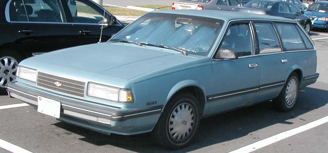 Chevrolet Celebrity 1982 - 1990 Sedan #8