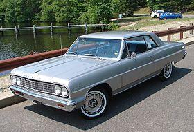 Chevrolet Chevelle I 1963 - 1967 Coupe-Hardtop #8