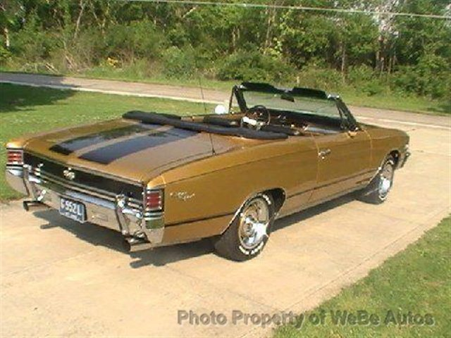 Chevrolet Chevelle II 1967 - 1972 Cabriolet #6