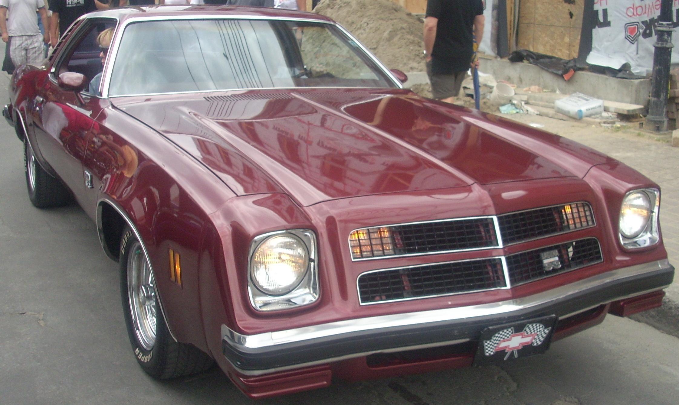 Chevrolet Chevelle III 1973 - 1977 Coupe #4