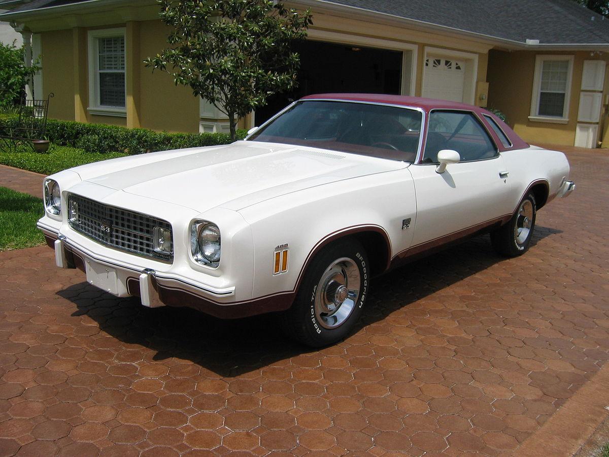 Chevrolet Chevelle III 1973 - 1977 Coupe #8