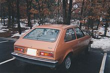 Chevrolet Chevette 1975 - 1987 Hatchback 5 door #8