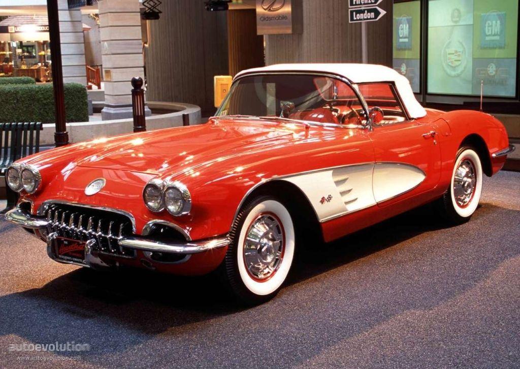 Chevrolet Corvette C1 1953 - 1962 Cabriolet #6