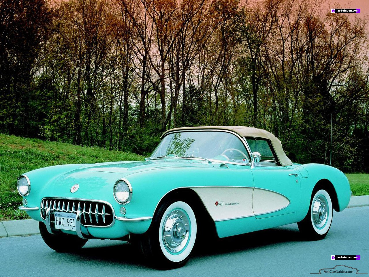 Chevrolet Corvette C1 1953 - 1962 Cabriolet #1