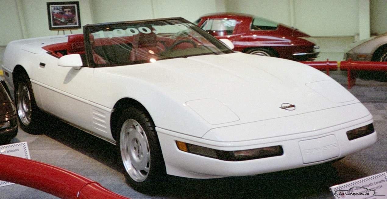 Chevrolet Corvette C4 1983 - 1996 Cabriolet #4