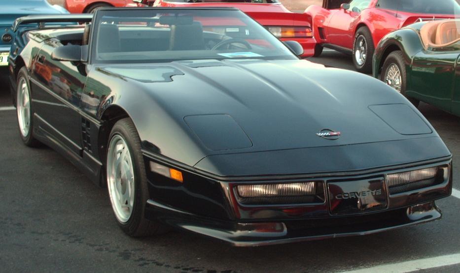 Chevrolet Corvette C4 1983 - 1996 Cabriolet #2