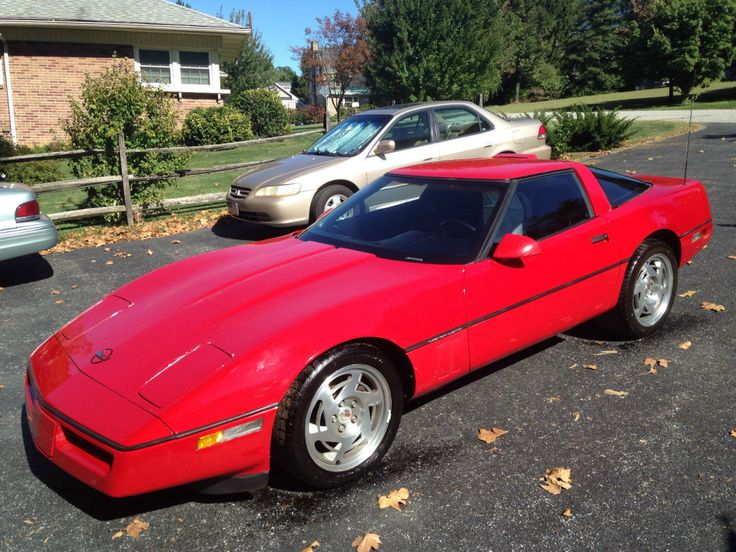 Chevrolet Corvette C4 1983 - 1996 Coupe #5