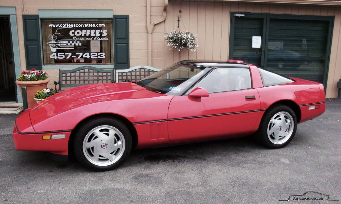 Chevrolet Corvette C4 1983 - 1996 Coupe #2