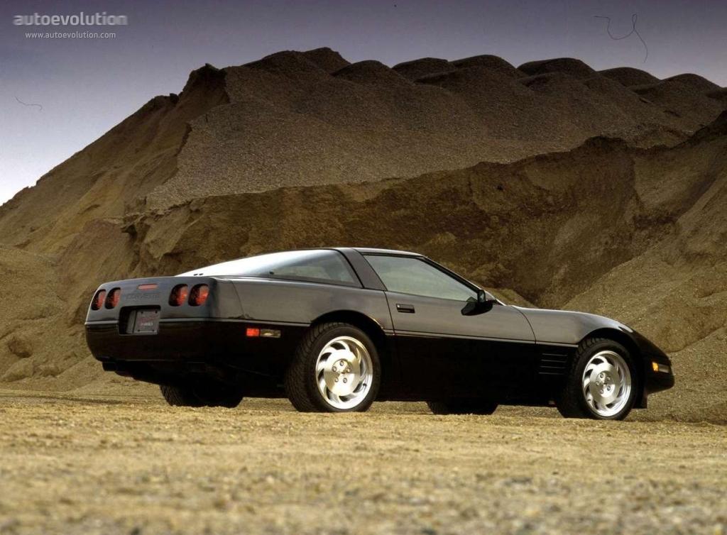 Chevrolet Corvette C4 1983 - 1996 Coupe #4