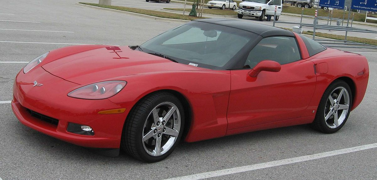 Chevrolet Corvette C6 2004 - 2013 Coupe #8