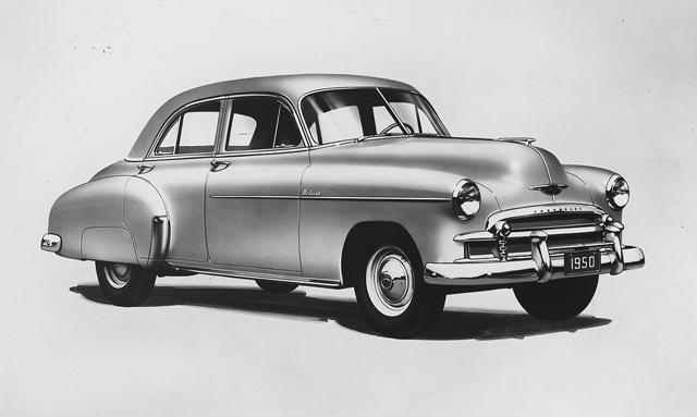 Chevrolet Deluxe II 1949 - 1952 Sedan #8