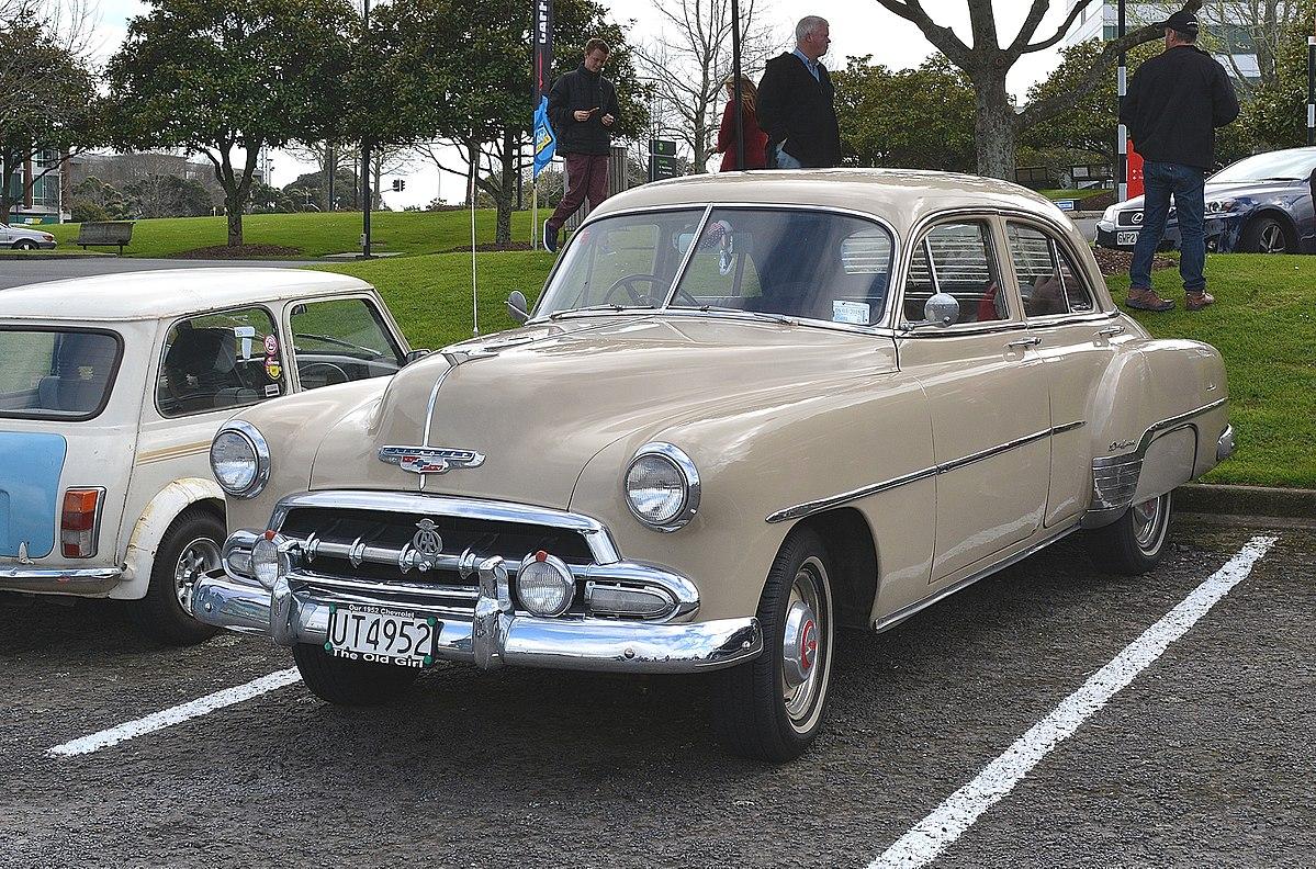Chevrolet Deluxe II 1949 - 1952 Sedan 2 door #8
