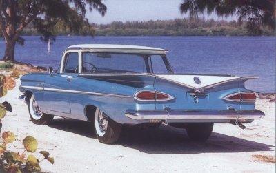 Chevrolet El Camino I 1959 - 1960 Pickup #8