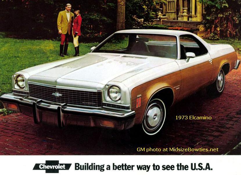 Chevrolet El Camino IV 1973 - 1977 Pickup #2