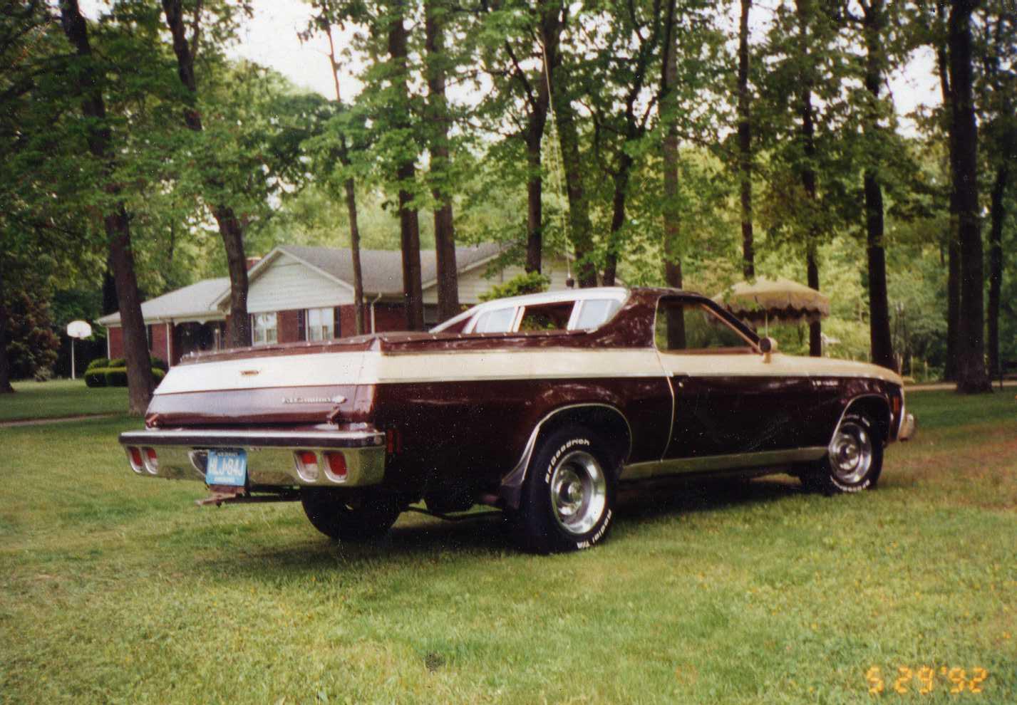 Chevrolet El Camino IV 1973 - 1977 Pickup #4
