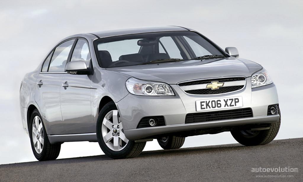 Chevrolet Epica I 2006 - 2010 Sedan #3