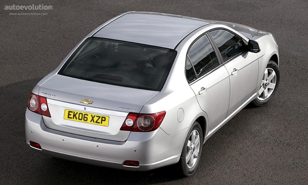 Chevrolet Epica I 2006 - 2010 Sedan #2