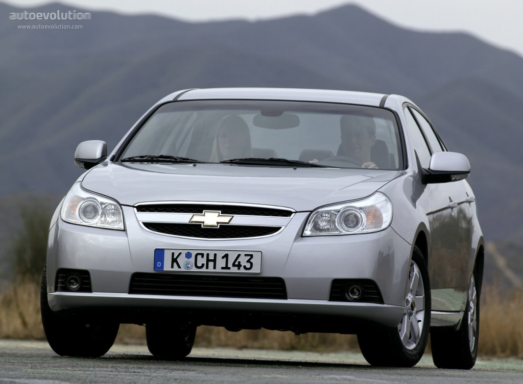 Chevrolet Epica I 2006 - 2010 Sedan #4