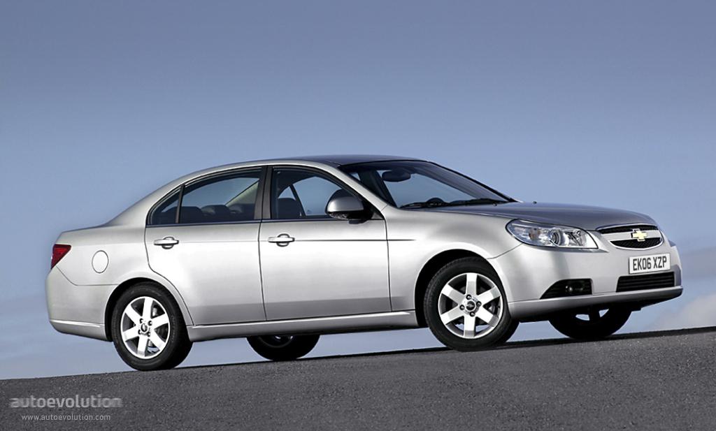Chevrolet Epica I 2006 - 2010 Sedan #7