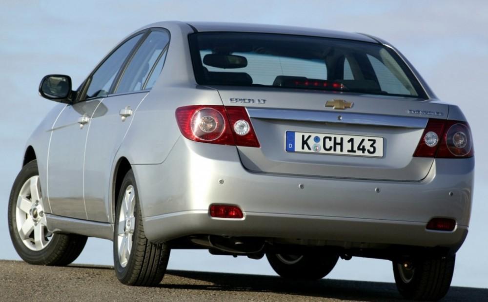Chevrolet Epica I 2006 - 2010 Sedan #1