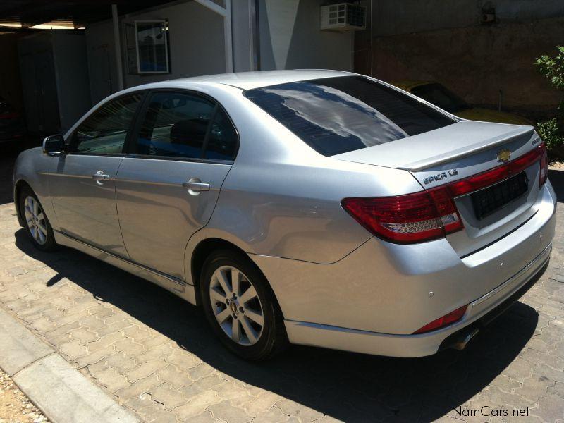 Chevrolet Epica I Restyling 2010 - 2012 Sedan #6