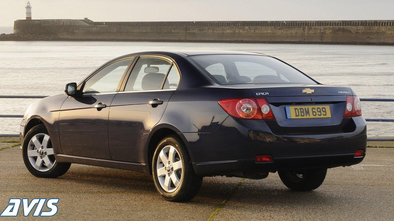 Chevrolet Epica I Restyling 2010 - 2012 Sedan #7
