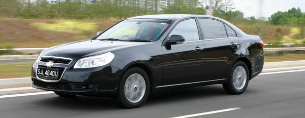 Chevrolet Epica I Restyling 2010 - 2012 Sedan #1