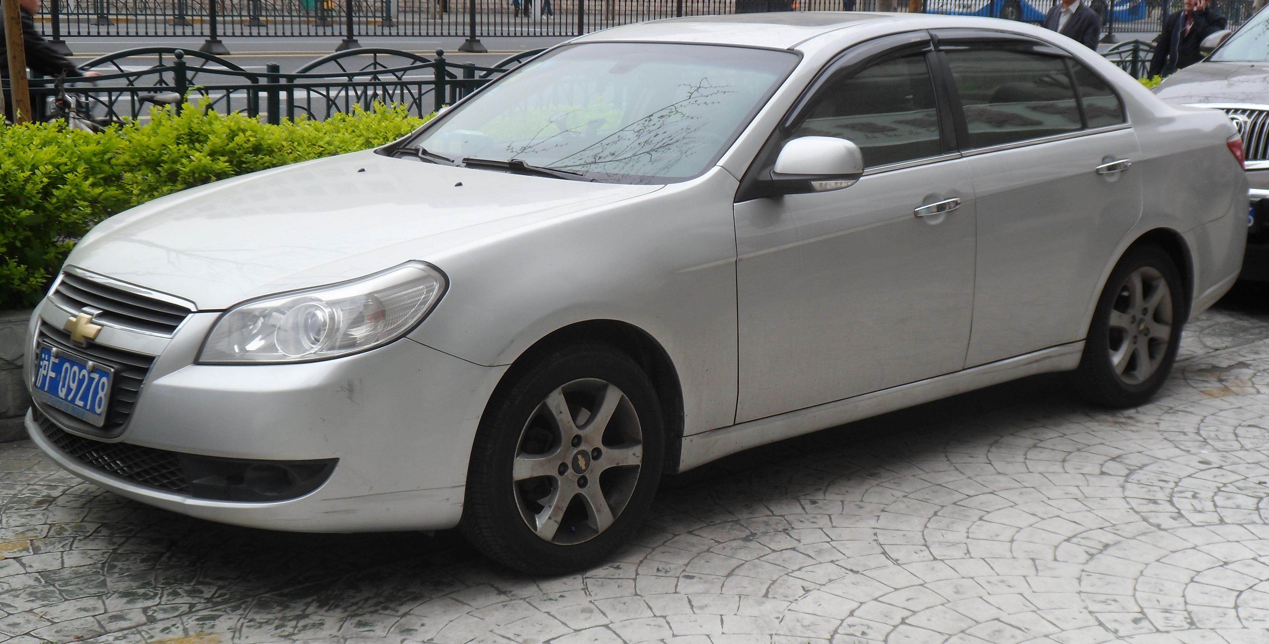 Chevrolet Epica I Restyling 2010 - 2012 Sedan #2