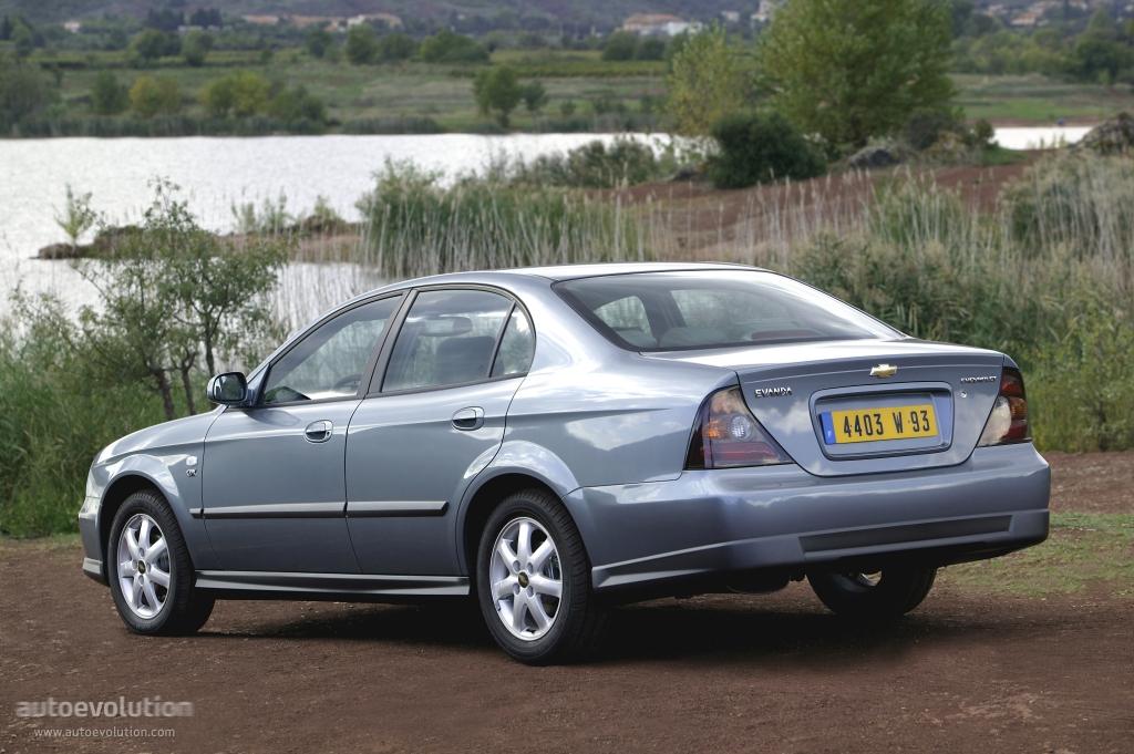 Chevrolet Evanda 2004 - 2006 Sedan #6