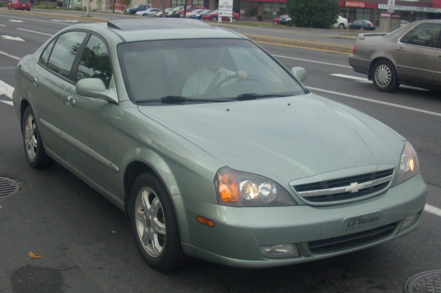 Chevrolet Evanda 2004 - 2006 Sedan #5
