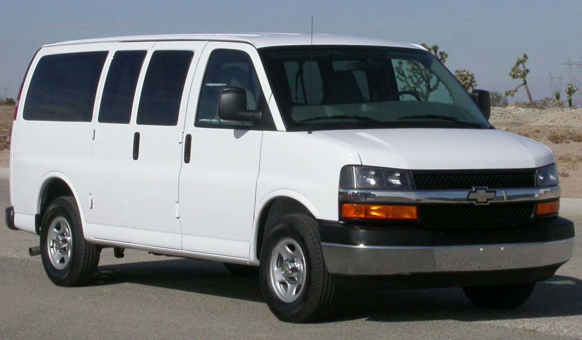 Chevrolet Express I 1996 - 2002 Minivan #5