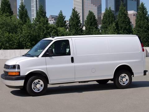 Chevrolet Express II 2002 - now Minivan #7