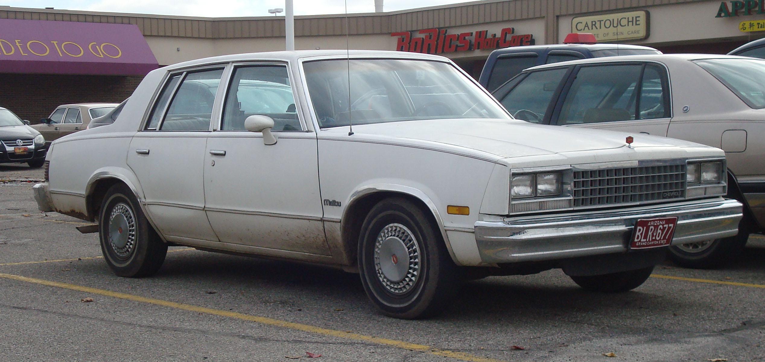 Chevrolet Malibu IV 1978 - 1983 Sedan #7