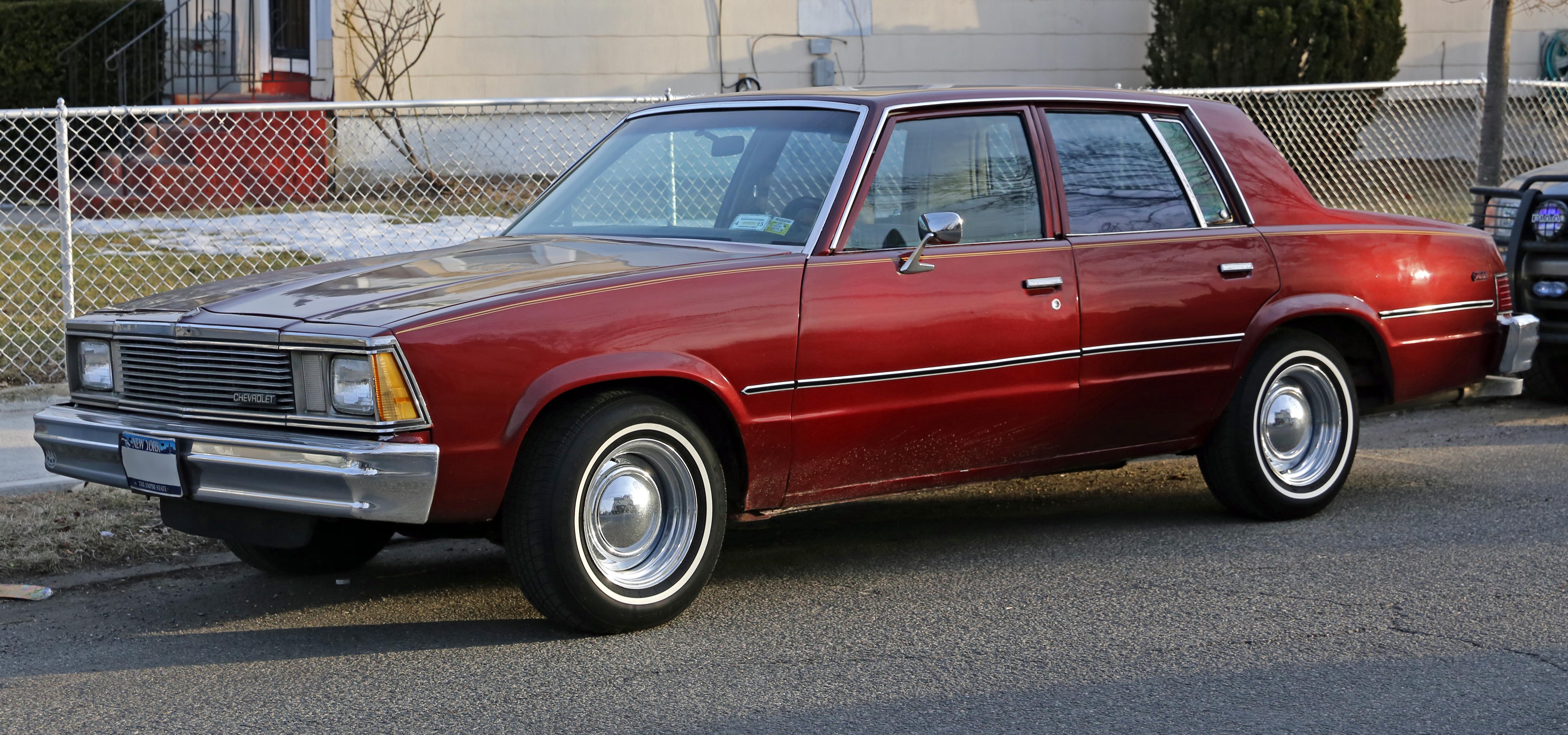 Chevrolet Malibu IV 1978 - 1983 Sedan #4