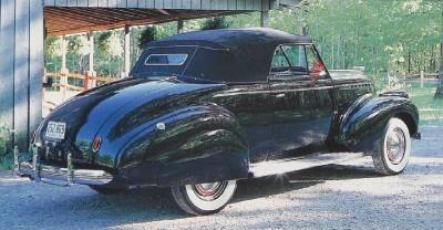 Chevrolet Master 1933 - 1942 Cabriolet #7