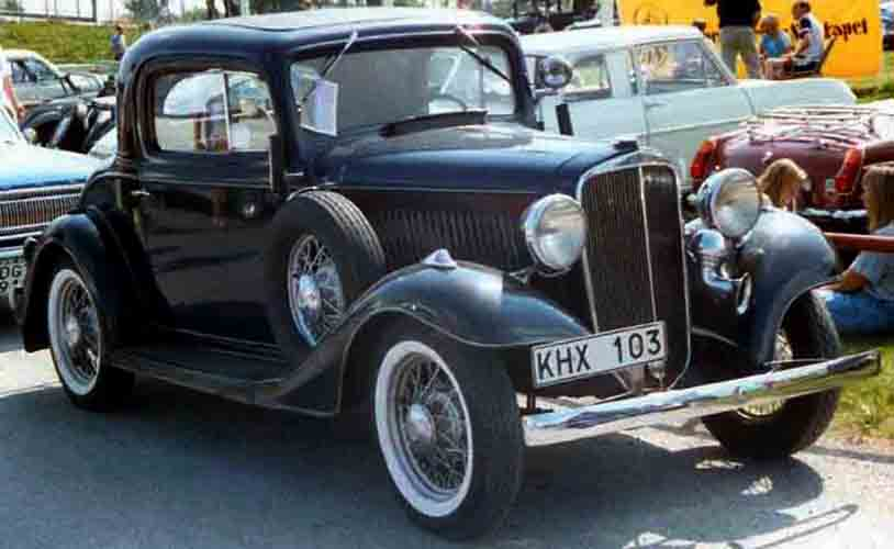 Chevrolet Master 1933 - 1942 Coupe #4